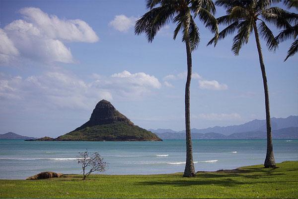 Paysage typique d'Hawaii - Voyages Hawaii par Zileo