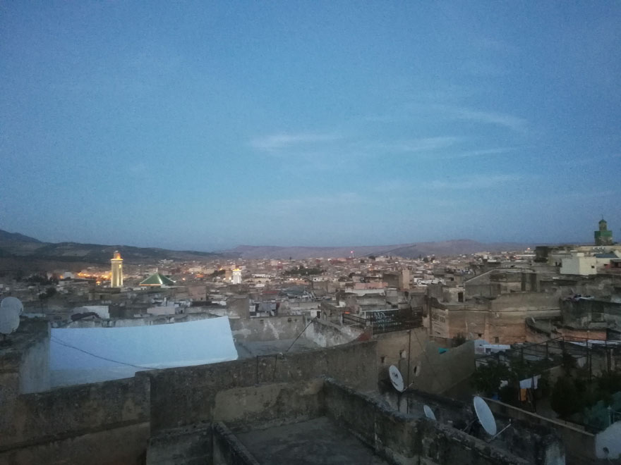 Voyage au Maroc, Médina de Fès de nuit Ziléo.fr