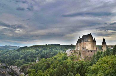 Un château près du Luxembourg