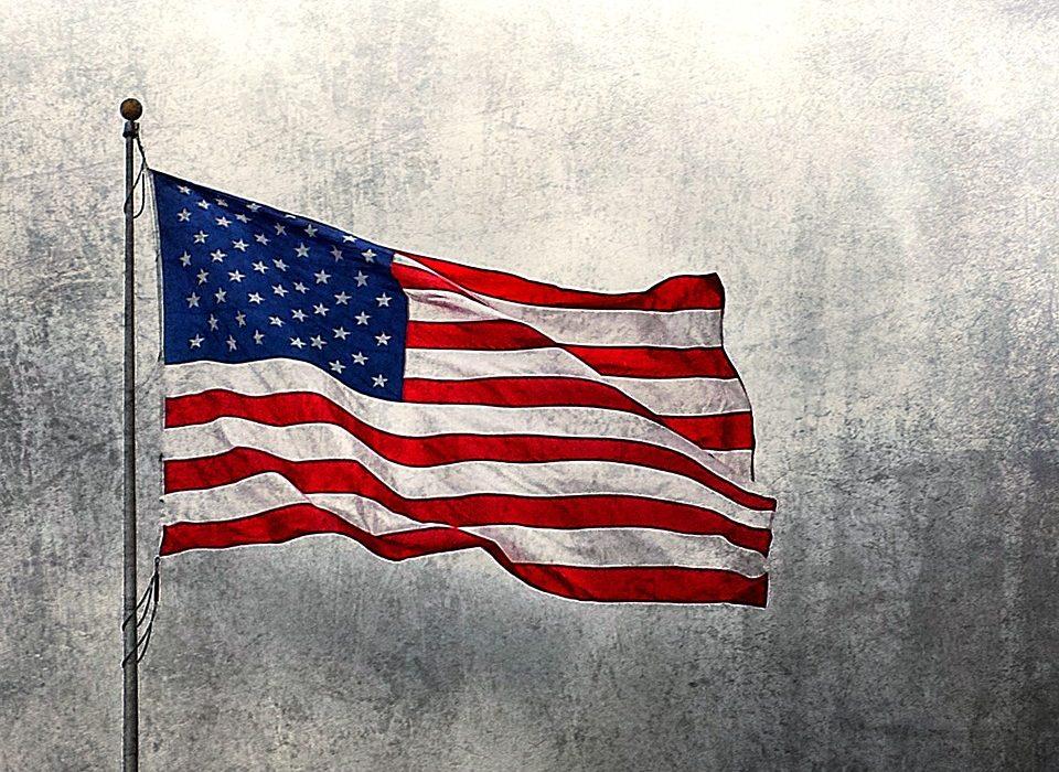 Symbole des USA : le drapeau des Etats-Unis