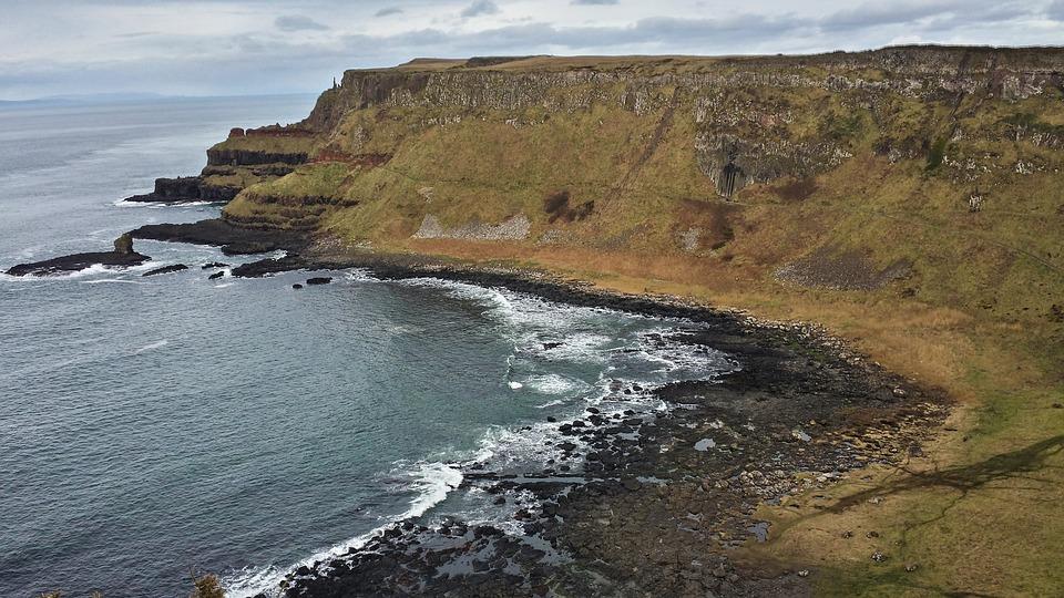Photo des côtes irlandaises