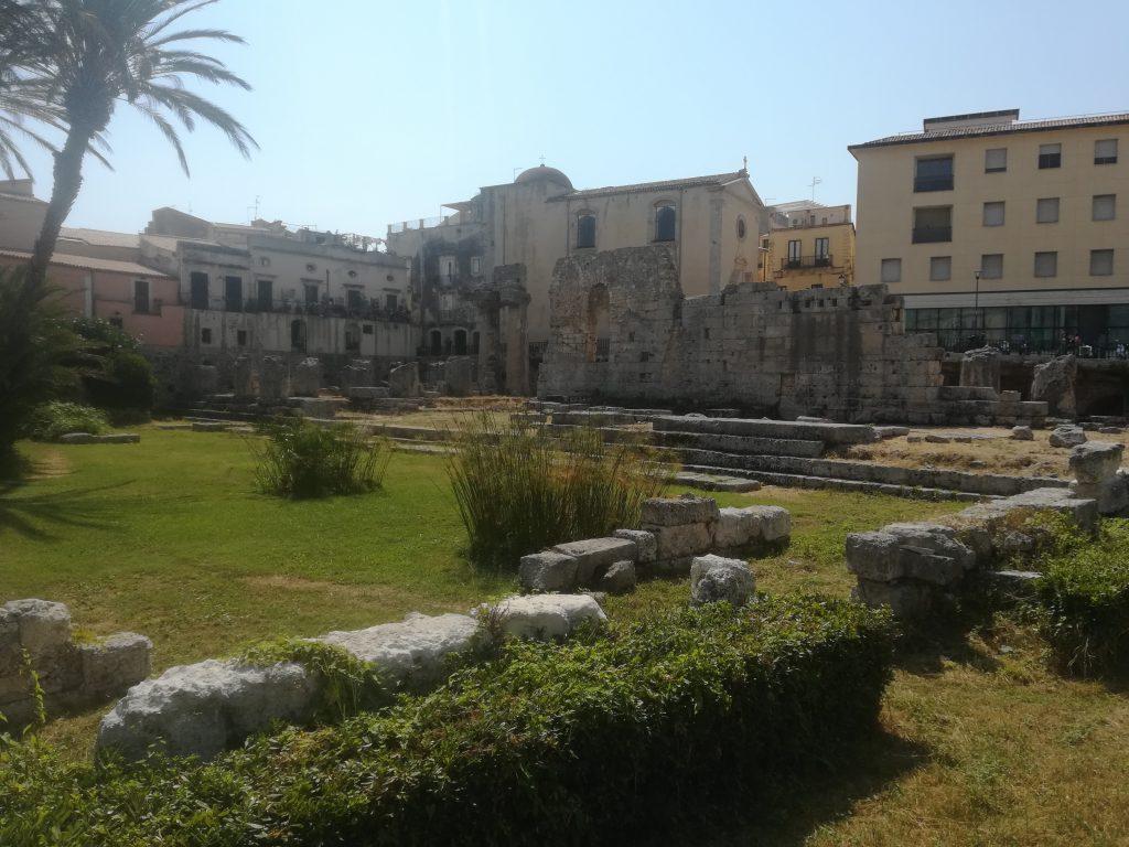 Syracuse - ruines en Sicile Voyage en Italie - Ziléo.fr