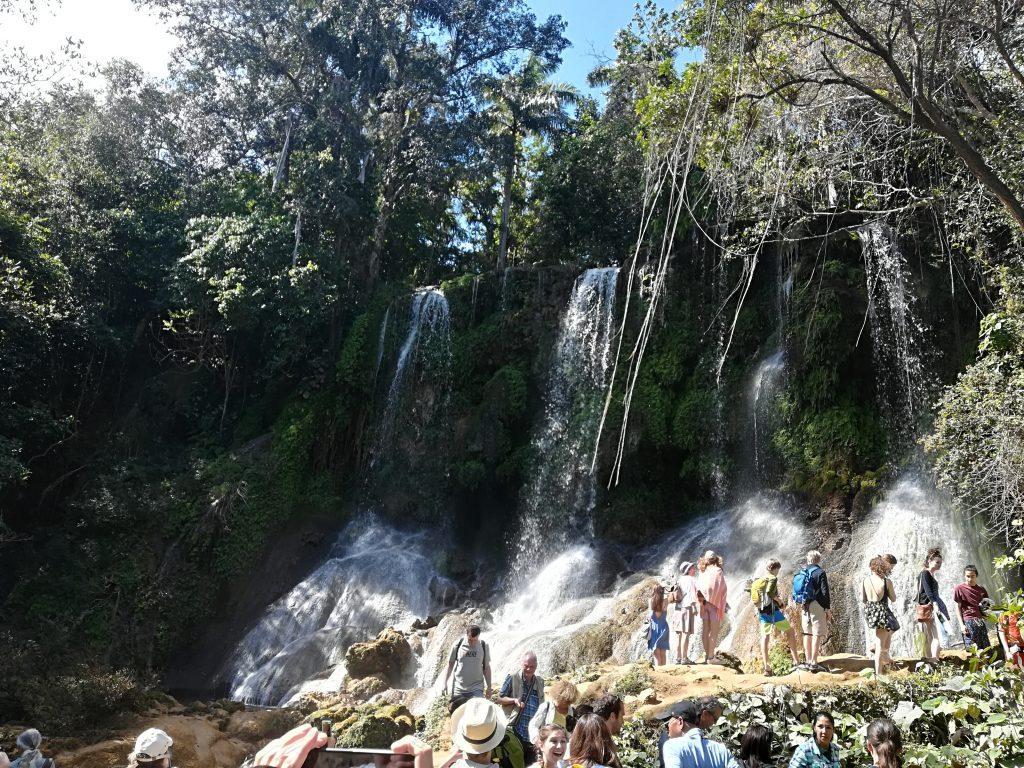 cascade El Nicho - Voyage à Cuba Ziléo