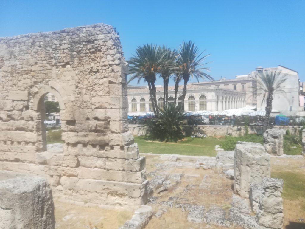 Voyage en Sicile - visite de Syracuse